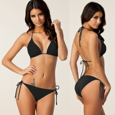 Most Classic Design High Quality Fully lined Strappy Bandages Removable Pad Bikini