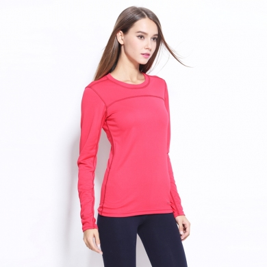 Plus size Female Breathable Quick Dry Long Sleeve Sports T shirts for Women Yoga Running Fitness S -...